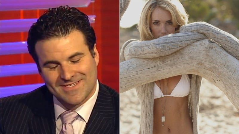 Illustration for article titled ESPN's Darren Rovell And The Fitness Model: A Brief History [Update]