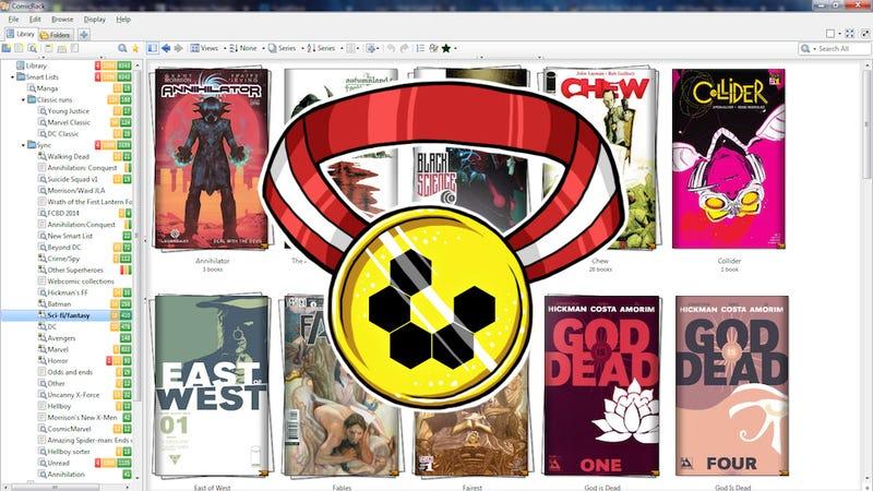 Illustration for article titled Most Popular Desktop Comic Book Reader: ComicRack
