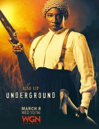 Aisha Hinds as Harriet Tubman (WGN)