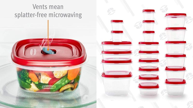 Rubbermaid Easy Find Vented Lids Food Storage Container | $18 | Amazon