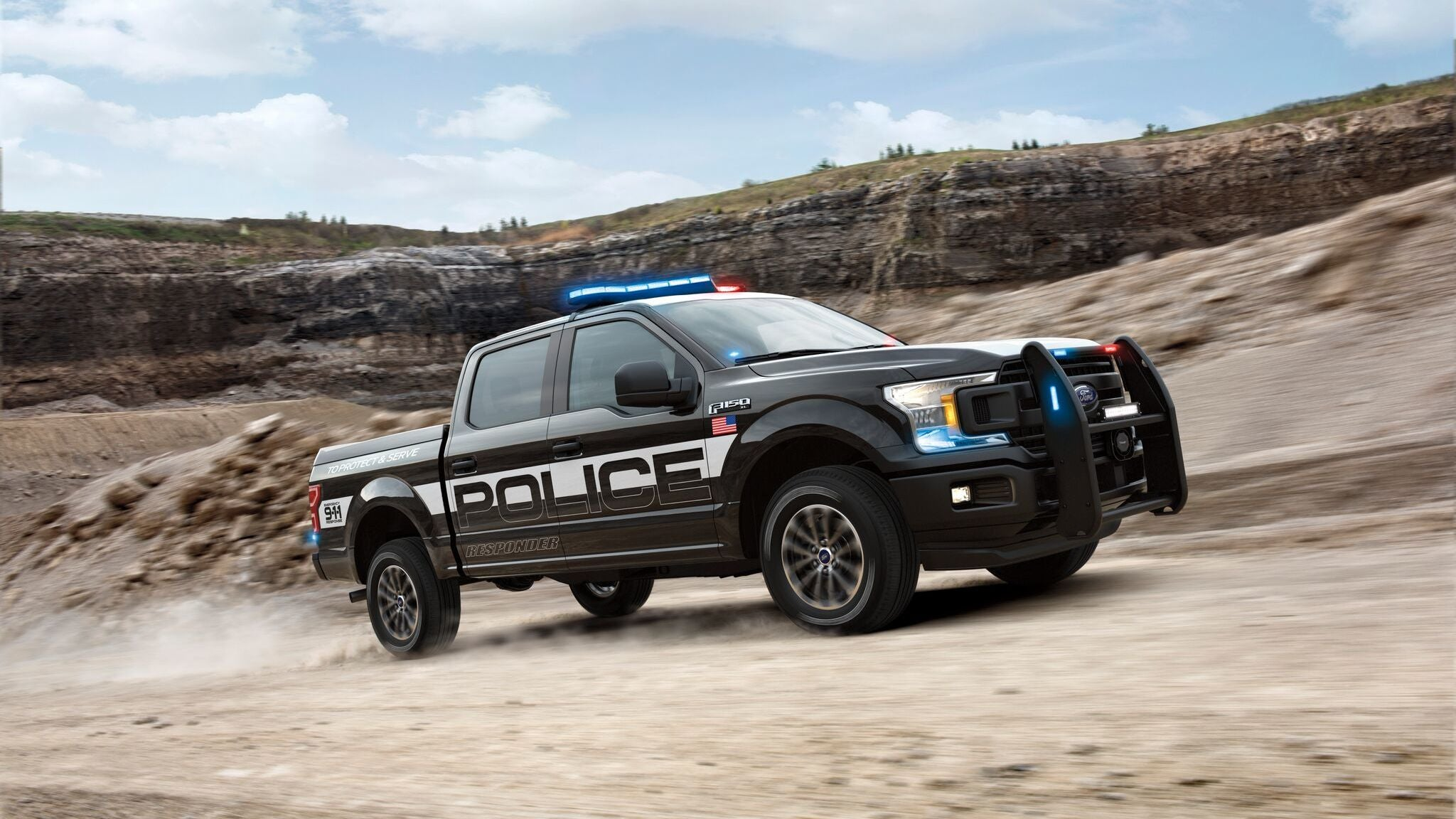 Ford has been extremely rude lately developing a new generation of police pursuit vehicles and now itu0027s introduced the F-150 Police Responder. & The New Ford F-150 Police Responder Is A Police Car That Can ... markmcfarlin.com