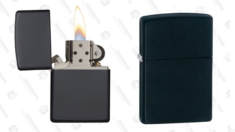Zippo Pocket Lighter, Black Matte | $9 | Amazon