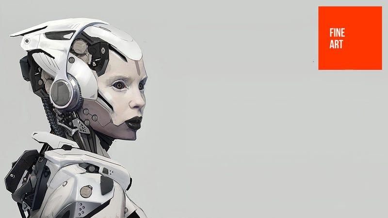 Illustration for article titled Robot Apes, Robot Ladies, Robot...Robots...