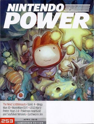 Illustration for article titled Nintendo Power Reveals Scribblenauts 2, Due Out This Fall