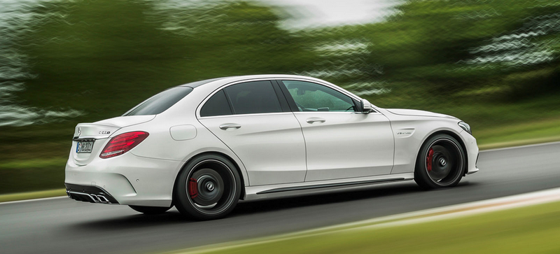 Illustration for article titled 2015 Mercedes-AMG C63: This Is It (And Holy Crap 503 HP)