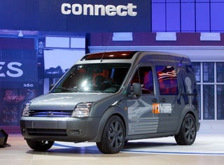 Illustration for article titled Chicago Auto Show: 2009 Ford Transit Connect Early Peek