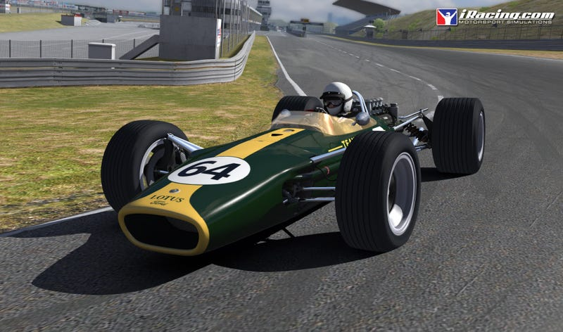 Illustration for article titled iRacing Lotus 49 is Live!