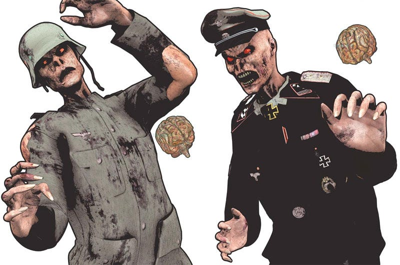 Illustration for article titled Nazi Zombies Now Targets In The Real World