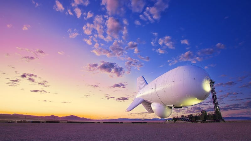 Illustration for article titled A Fleet of Blimps Will Soon Serve as a Missile Shield Over Washington