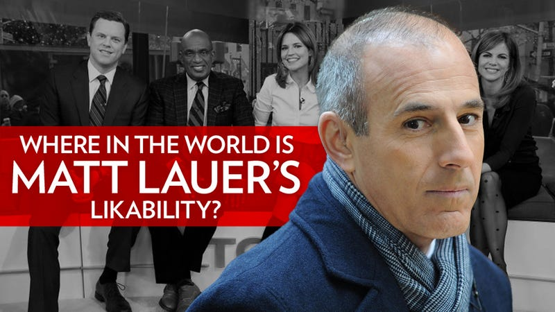 Illustration for article titled Everyone Hates Matt Lauer
