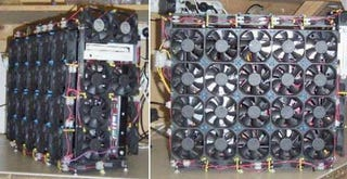 Illustration for article titled Fan Case Mod Keeps CPU, Half the World Cool