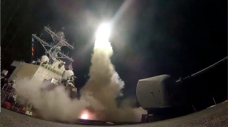 Why Firing Tomahawk Missiles At Syria Was A Nearly Useless