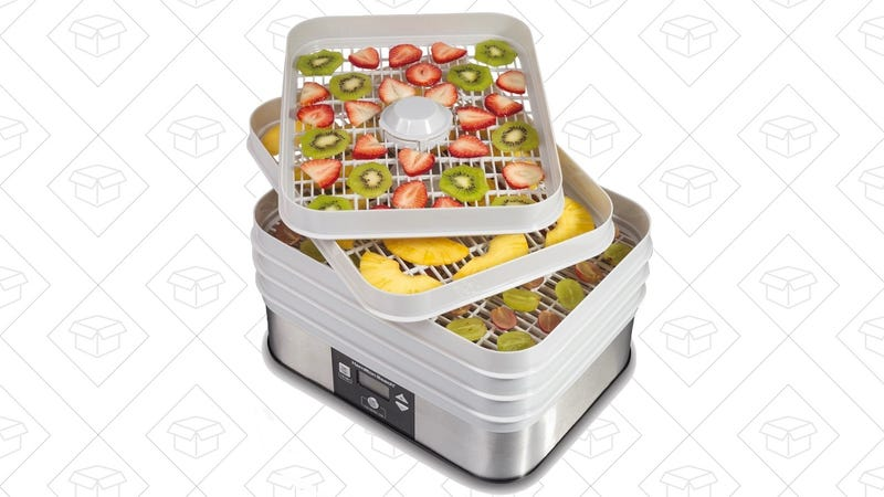 Hamilton Beach 32100A Food Dehydrator | $49 | Amazon