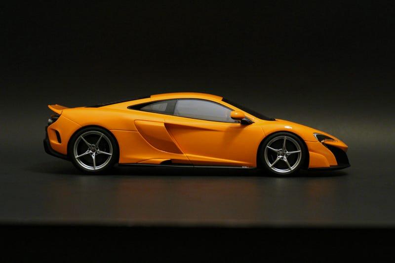 Illustration for article titled McLaren 675LT in 1:18 scale