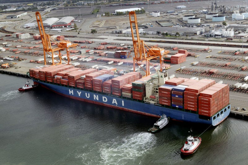 Illustration for article titled Hyundai Merchant Marine Was Outbidded for Hanjin Shipping Assets by Korea Line