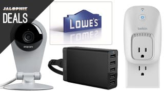 Illustration for article titled Deals: $100 at Lowe's for $90, Tool Storage of All Sizes, Dropcam