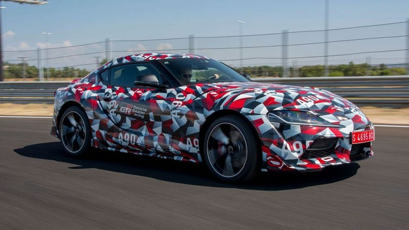 Illustration for article titled At Least The 2019 Toyota Supra Will Sound Good