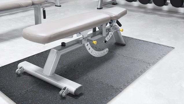 Protect Your Floors With These Discounted Gym Mats