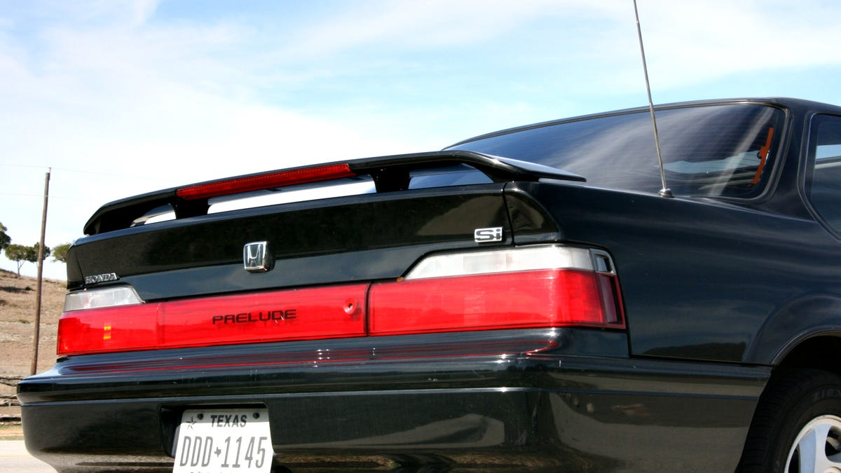 The Analog Joys Of Driving A Near Perfect Old Honda Prelude Si 1992