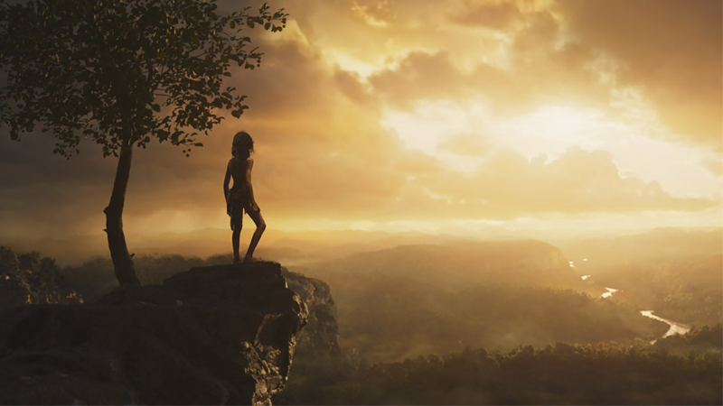 The titular hero looks upon a much more dangerous jungle in Andy Serkis' Mowgli.