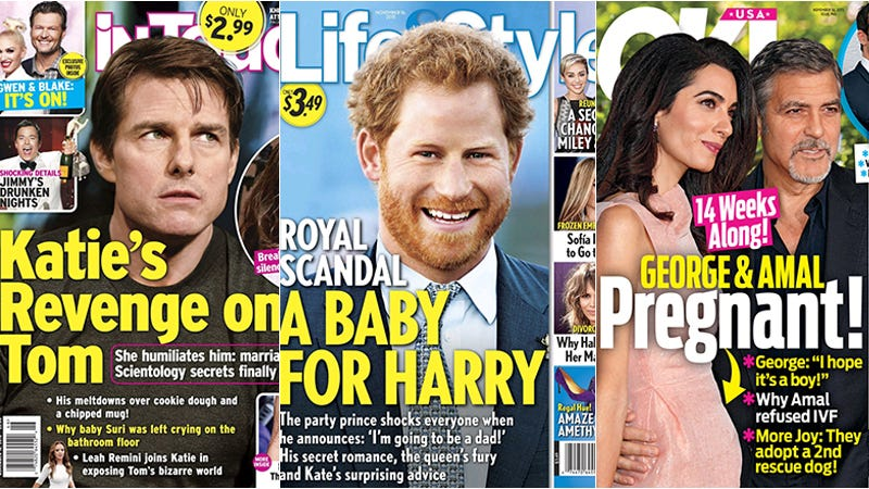Illustration for article titled This Week In Tabloids: Prince Harry's About to Be a Daddy, and Queen Mommy Ain't Happy