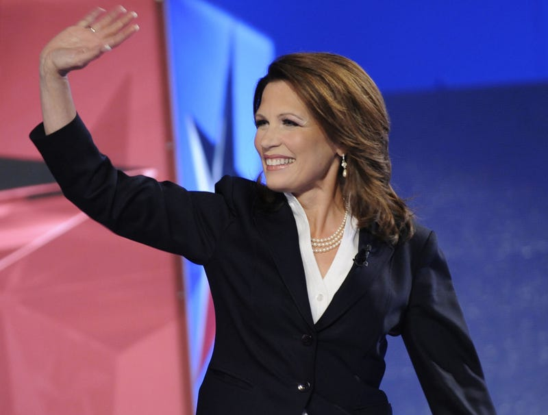 Illustration for article titled Michele Bachmann Announces Bid To Be Discussed More Than She Deserves In 2012