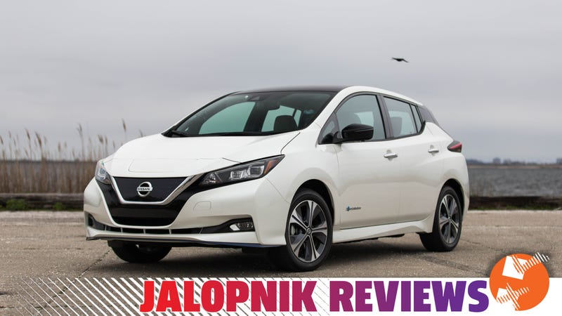 The 2019 Nissan Leaf Plus Brings The Range And The Fun