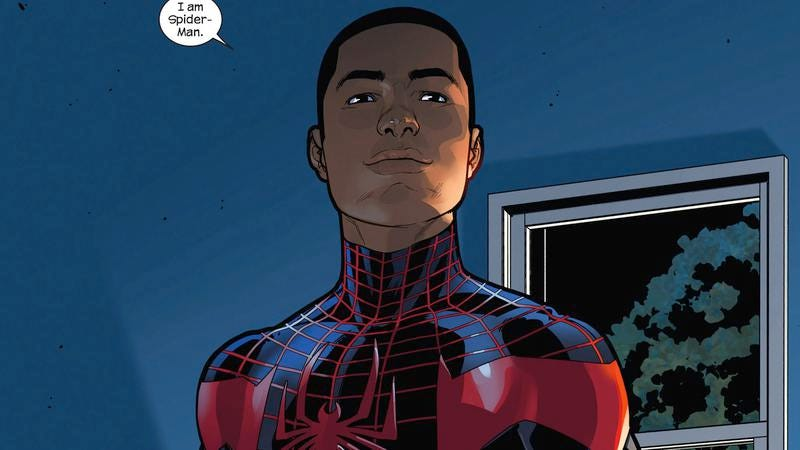 Illustration for article titled Spider-Man is now Miles Morales, news the internet will no doubt take calmly