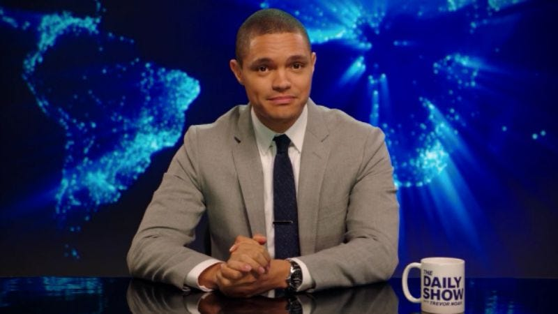 Illustration for article titled The Daily Show debuts an updated theme song produced by Timbaland