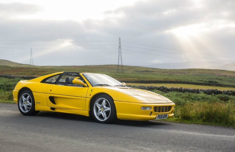 Illustration for article titled 150,000 miles on a F355?