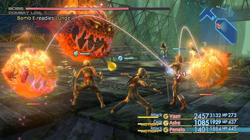 Illustration for article titled Final Fantasy XII The Zodiac AgeHas A Fast-Forward Button