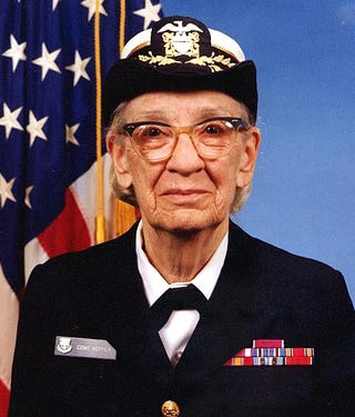 Illustration for article titled Grace Hopper - Mother of COBOL