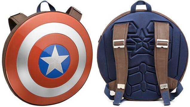 bb741489aeab Hunt Hydra At Your High School With a Captain America Shield Backpack