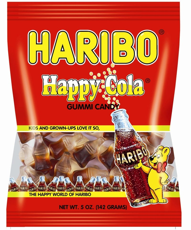 Illustration for article titled Today's Gummi: Haribo Happy Cola