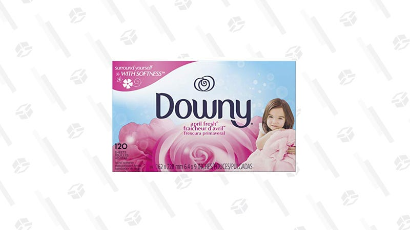 Downy April Fresh Fabric Softener Dryer Sheets | $6 | Amazon | Clip $2 Coupon