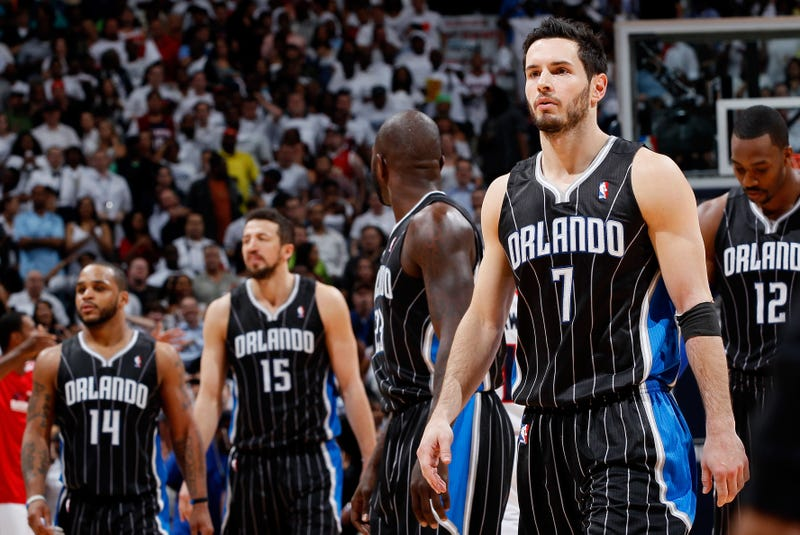Illustration for article titled J.J. Redick Tries Really Hard To Avoid Saying Everyone On The Magic Hated Each Other