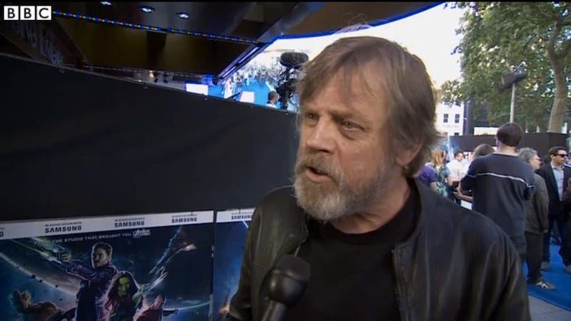 Illustration for article titled Check Out Mark Hamill's Real Jedi Beard For Star Wars: Episode VII