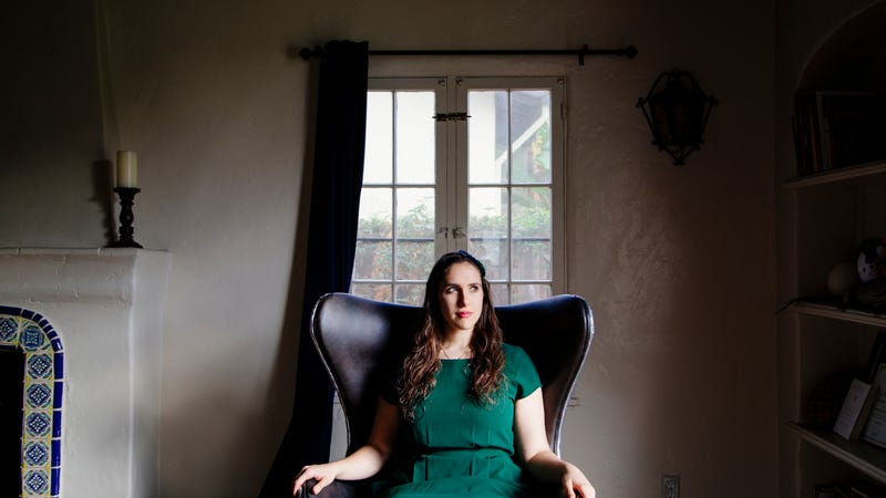 Emmy nominee Megan Amram, presumably plotting her revenge