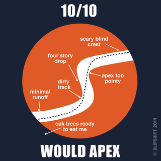 """Illustration for article titled New Blipshift Shirt - """"Would Apex"""""""