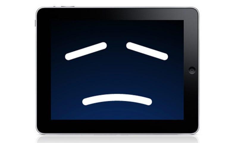 Разрядка планшета на iOS из-за вируса