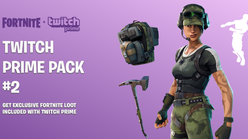 Twitch Prime Fortnite Pack 2 | Twitch Prime | Free with Amazon Prime
