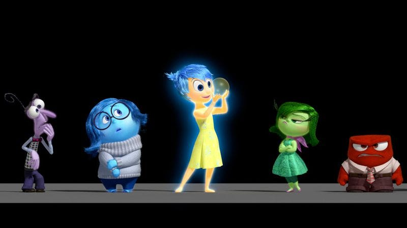 Illustration for article titled Here's the plot to Pixar's Inside Out