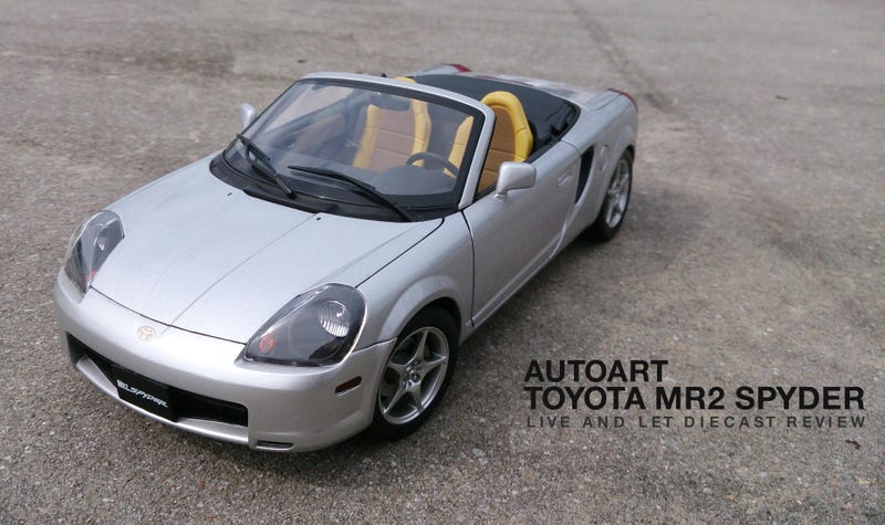 Illustration for article titled Autoart Toyota MR2 Spyder: Review