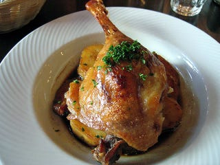 Duck confit tastes entirely different from duck cooked almost any ...