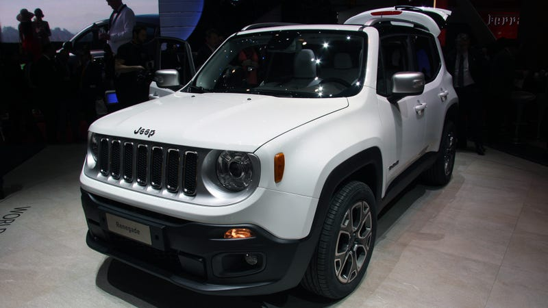 Illustration for article titled The 2015 Jeep Renegade Is Just As Cool Live