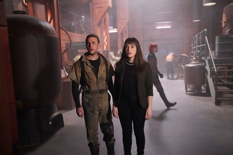 Marvel's Agents Of S H I E L D smashes storylines together for the