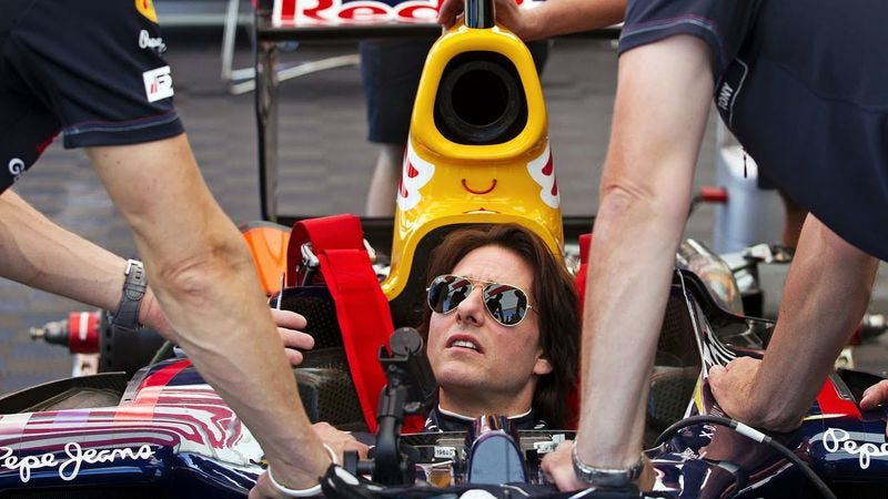 Illustration for article titled Tom Cruise to make another auto racing movie