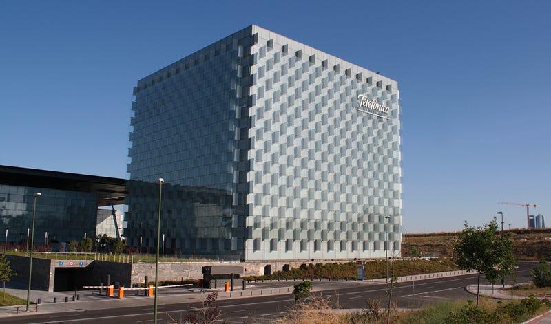 La sede central de Telefónica en el Distro T de Madrid. Foto: M.Peinado / Flickr