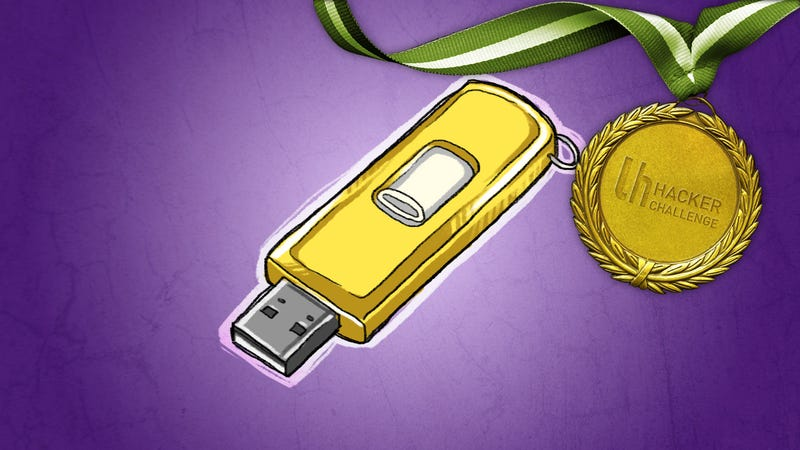 Illustration for article titled Hacker Challenge: Share Your Clever Uses for USB Flash Drives