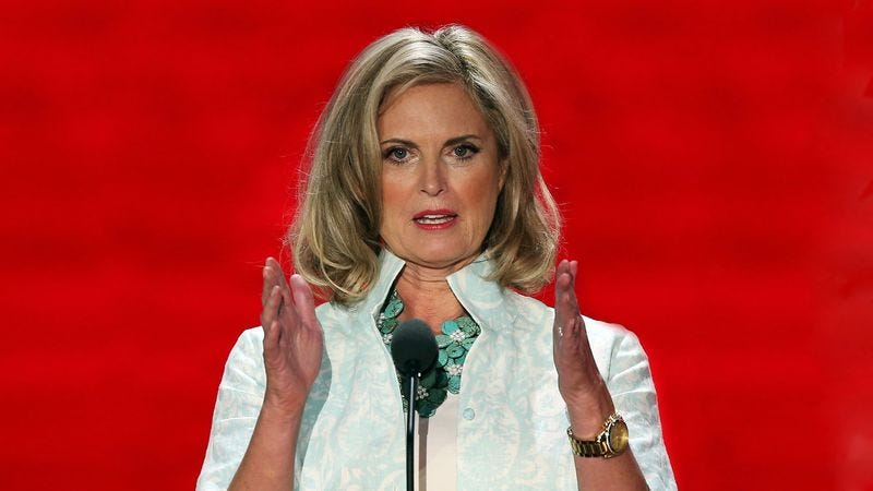 Illustration for article titled Entire Republican National Convention Stunned As Ann Romney Asks For Divorce
